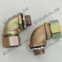 Electrical flexible conduit 90 elbow fitting