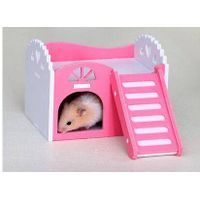 hamster,guinea pig,hedgehog small animal castle sleeping nest