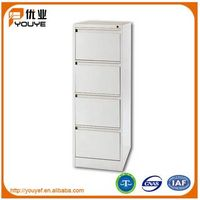 4 tiers drawers office filling steel cabinet