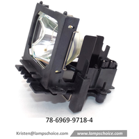 Replacement Projector Lamp with housing For 3M X70 Projector (78-6969-9718-4)