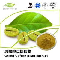 Green Coffee Bean Extract 50% Chlorogenic Acid Powder HPLC