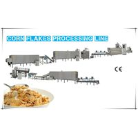 Automatic corn flakes machinery production line