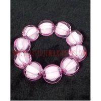 bead in bead acrylic bracelet, cheap acrylic bracelets online, discount acrylic gems bracelet-BB001