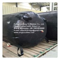 Inflatable airbag for pipeline plug