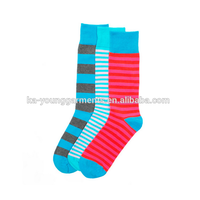 High quality combed cotton mens dress socks