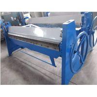 Heavy Hand Folding Machine TDF-1.5X2000 thumbnail image