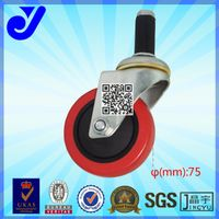JY-304|ESD wheel|Inserted rod caster|Double bearing castors