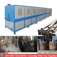 Square tube polishing buffing machine