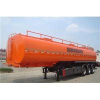 3 Axles 50 CBM Carbon Steel Fuel Tanker Trailer thumbnail image