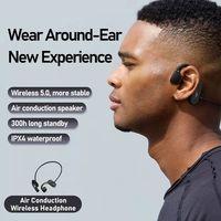 New Arrival Remax IPX4 Waterproof Wireless Earphone Bluetooth 5.0 Bone Conduction Earphones Sports H