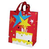 Red star gift bag paper gift bag ZD-1230 thumbnail image