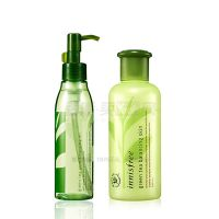 The essence of Green Tea Qingrun moisture balance Cleansing Oil