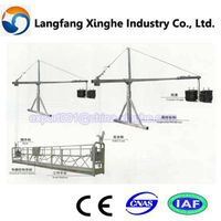 working suspended platform