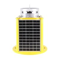 FAA Reilable quality Type B High Intensity solar aviation light for building Chimney thumbnail image