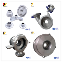 pump valve parts from China supplier with precision casting