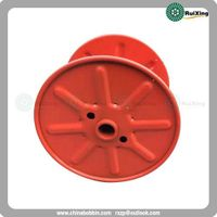 Reel with single wall rimmed flange in pressed steel for Mild steel wire