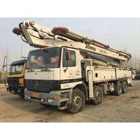 36m concrete pump used schwing pump truck benz