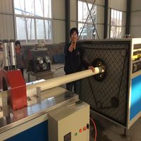 PVC downpipe production line