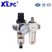 Filter Pressure Reducing Valve Regulator Lubricator Pneumatic Components