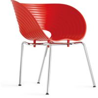 Competitive Price Restaurant Dining Chair ABS Plastic Shell Chair thumbnail image
