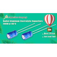 JRK - 2000H at 105°C, Radial Aluminum Electrolytic Capacitor 7mm Height thumbnail image