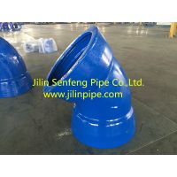 Double Socket Bends ductile iron pipe fittings ISO2531 BSEN545 BSEN598 thumbnail image