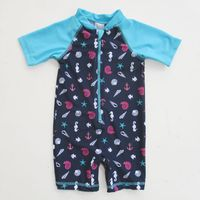 fashion baby boys one piece kids swimwear/beachwear