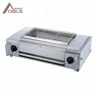 Propane Outdoor BBQ Gas Grill commercial Grill Custom Portable Commercial BBQ Grill