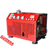 GSV100 type fire breathing air compressor/filling bottles of fire/high pressure air compressor
