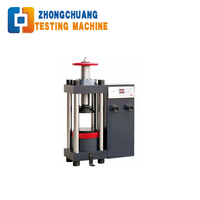 Price Manual Concrete Compression Testing Machine Testing Equipment Manufacturer