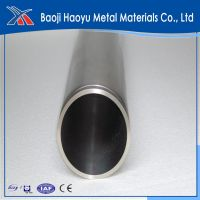 Gr2 export titanium pipe for car exhaust