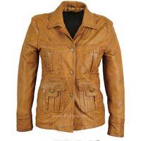 Leather Fashion Jacket Coat