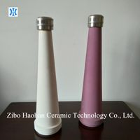 Universal alumina ceramic cone for stock stuff cleaner of paper machinery