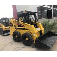 Chinese famous brand skid steer loader XT740 mini loader with factory price