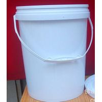 10L plastic pail with lid, paint bucket