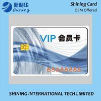 VIP Plastic Card