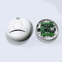 Tuya Smart App Control wifi smoke alarm fire alarm detector thumbnail image