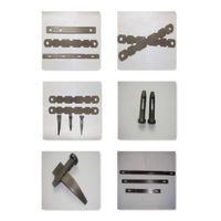 Aluminum steel formwork accessories flat tie, wedge bolt, x flat tie