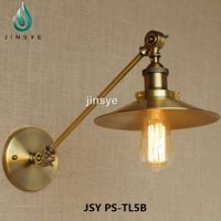 Colored Fabric lighting textile cablewith lamp base
