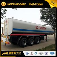 tri axle 40,000 liters fuel tanker trailer