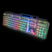 Newest entry level backlight Gaming keyboard Ergonomic wired USB multimedia keyboard