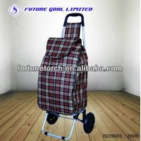 Steel shopping trolley cart for supermarket thumbnail image