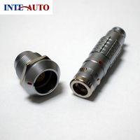 lemo 1K series 8 pins connector, waterproof cable plug and receptacle,cross FGG.1K.308 EGG.1K.308