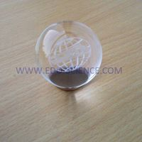 Top Quality K9 3D Laser Engraved Crystal Ball thumbnail image