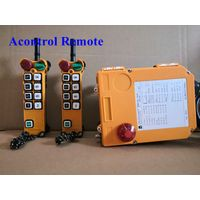 220V 60Hz PA hoist Radio Remote Control with 2 transmitter and receiver thumbnail image