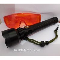 Blue Light LED Leak Detection Flashlight for Baghouse Testing