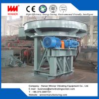Heavy disc feeder machine with energy saving