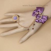 Euramerican Vintage Gothic Lace Bracelet Jewelry