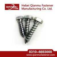 HEX HEAD LAG Wood screw of Standard DIN571  galvanized Wood Screw