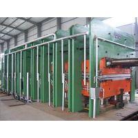 Rubber platen vulcanizing machine